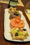 tartare di tonno e tartare di salmone