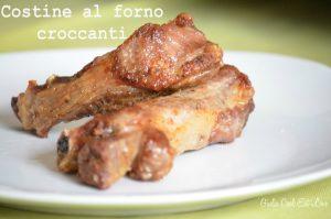 Costine al forno Croccanti