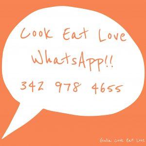 Cook Eat Love WhatsApp