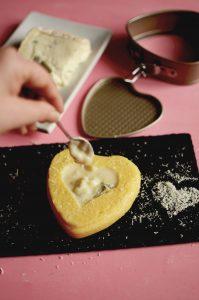 Cuor di polenta Gorgonzola