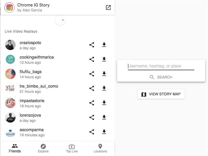salvare storie dirette instagram