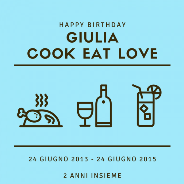 Giulia COok Eat Love Food blogger Piacenza Foodblogger
