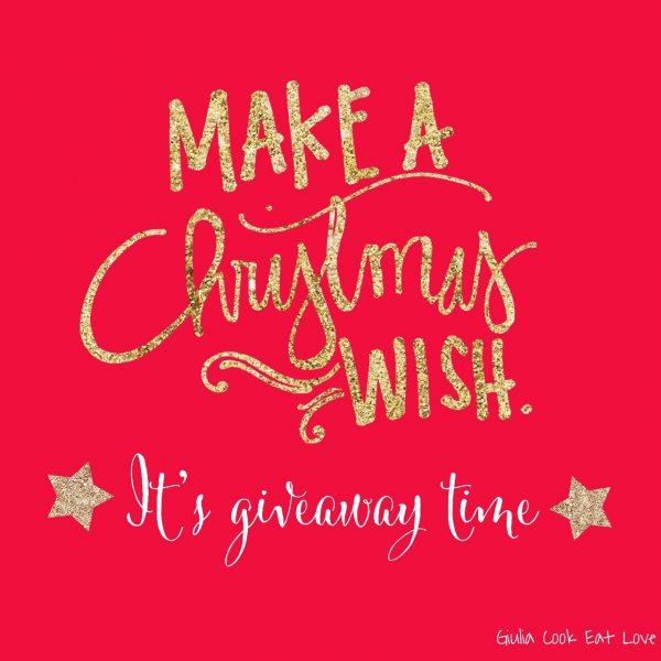 Giulia Cook Eat Love Natale Christmas Giveaway